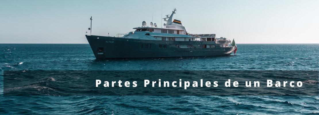 Partes Principales de un Barco